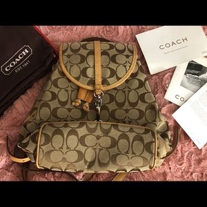 🚫SOLD🚫 Coach Backpack